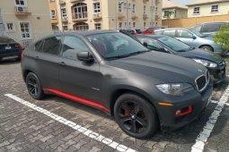 Neat Nigerian used BMW X6 2012