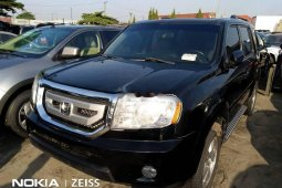 Foreign Used Honda Pilot 2010 Model Black