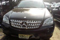 Clean Foreign used 2007 Mercedes-Benz ML350