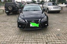 Nigeria Used Lexus IS 2013 Model Black