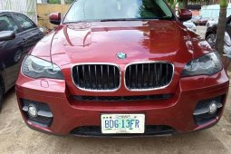 Neat Nigerian used 2011 BMW X6 Automatic Petrol well maintained
