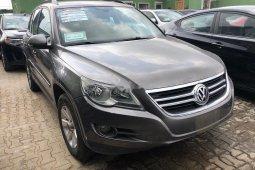 Nigeria Used Volkswagen Tiguan 2010 Model Gray