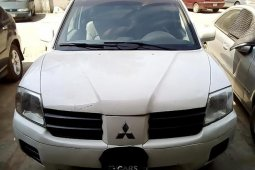 Nigeria Used Mitsubishi Endeavor 2004 Model White