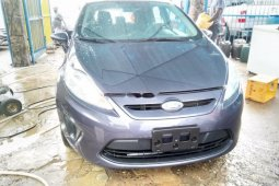Foreign Used Ford Fiesta 2013 Model Gray