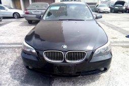Nigeria Used BMW 5 Series 2006 Model Black