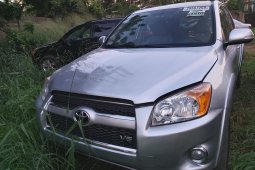 Foreign Used Toyota RAV4 2009 Model Silver