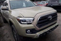 Foreign Used Toyota Tacoma 2016 Model Pearl