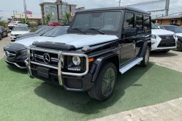 Foreign Used Mercedes-Benz G63 2015 Model Black