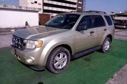 Nigeria Used Ford Escape 2010 Model Gold