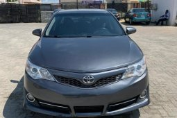 Foreign Used Toyota Camry 2013 Model Grey