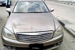 Neat Nigerian used Mercedes-Benz C300 2008