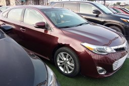 Foreign Used Toyota Avalon 2015 Model Red
