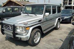 Nigeria Used Mercedes-Benz G-Class 2003 Model Silver