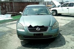 Nigeria Used Nissan Altima 2002 Model Green