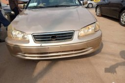 Nigeria Used Toyota Camry 2001 Model Gold