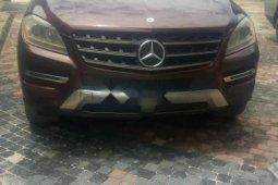 Neat Nigerian used Mercedes-Benz ML350 2012