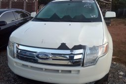 Foreign Used Ford Edge 2007 Model White