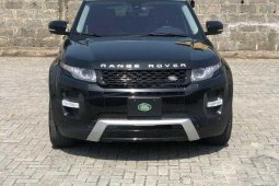 Neat Nigerian used 2015 Land Rover Range Rover Evoque