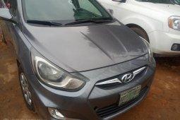 Nigeria Used Hyundai Accent 2014 Model Gray