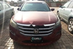 Nigeria Used Honda Accord CrossTour 2010 Model Red