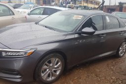 Foreign Used Honda Accord 2018 Model Gray