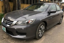 Very Clean Nigerian used Honda Accord 2015