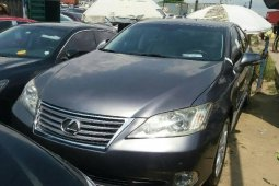 Foreign Used Lexus ES 2012 Model Gray