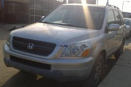 Foreign Used Honda Pilot 2003 Model Silver