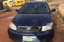 Very Clean Nigerian used 2006 Toyota Corolla