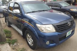 Foreign Used Toyota Hilux 2010 Model Blue