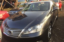Foreign Used Lexus ES 2011 Model Black