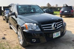 Foreign Used Mercedes-Benz GLK 2010 Model Black