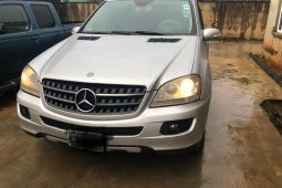 Nigeria Used Mercedes-Benz ML350 2007 Model Silver