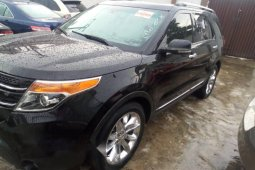 Foreign Used Ford Explorer 2012 Model Black