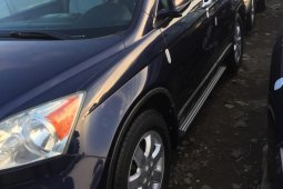 Foreign Used Honda CR-V 2008 Model Blue