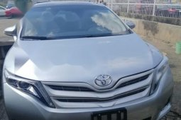 Foreign Used Toyota Venza 2015 Model Silver