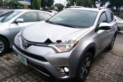 Nigeria Used Toyota RAV4 2016 Model Silver