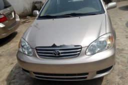 Foreign Used Toyota Corolla 2011 Model Gold