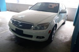 Foreign Used Mercedes-Benz C300 2008 Model White