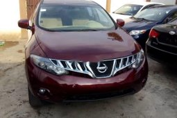 Foreign Used Nissan Murano 2009 Model Red