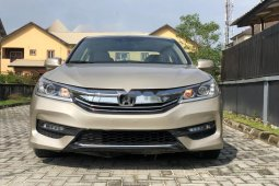 Nigeria Used Honda Accord 2015 Model Gold
