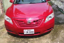 Foreign Used Toyota Camry 2007 Model Red