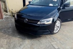 Foreign Used Volkswagen Jetta 2012 Model Black