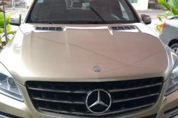 Very Clean Nigerian used Mercedes-Benz ML350 2013