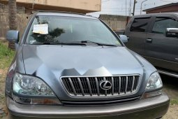 Foreign Used Lexus RX 2001 Model Gray