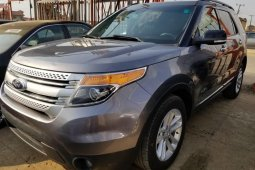 Foreign Used Ford Explorer 2013 Model Gray