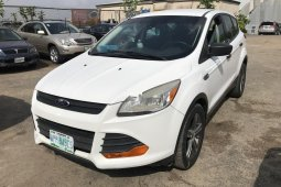 Nigeria Used Ford Escape 2014 Model White