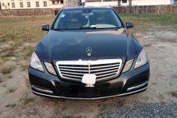 Nigeria Used Mercedes-Benz E200 2012 Model Gray