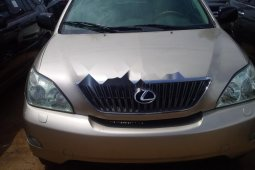 Foreign Used Lexus ES 2005 Model Gold