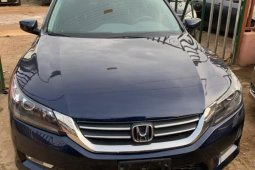 Foreign Used Honda Accord 2014 Model Blue